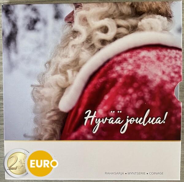 KMS Finnland 2021 Euro set Stgl BU FDC Weihnachten