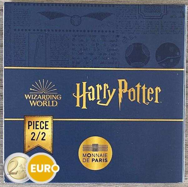 250 Euro Frankreich 2021 - Harry Potter goldenen Schnatz BE Proof PP Gold