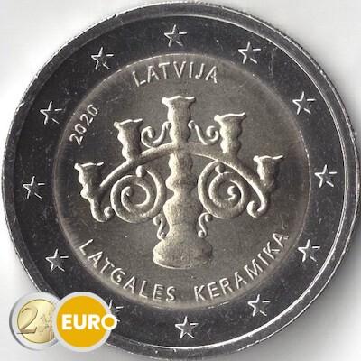 2 euro Lettland 2020 - Lettische Keramik UNC