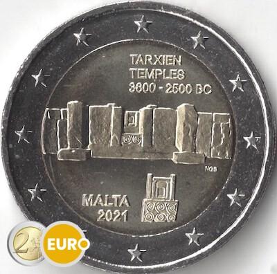 2 euro Malta 2021 - Tempel von Tarxien UNZ UNC