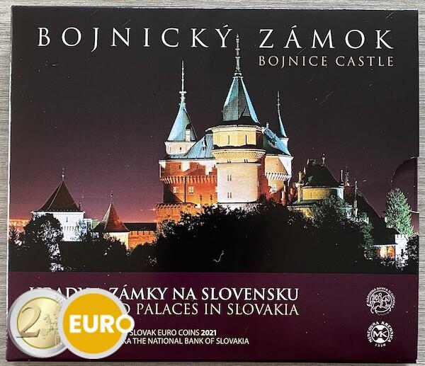 KMS Slowakei 2021 Stgl. BU FDC - Schloss Bojnice